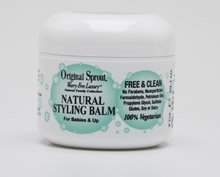 Original Sprout Natural Styling Balm. Non-Toxic Firm Holding Hair Styling Balm. 2 oz. (Single Pack)