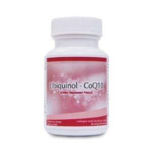 Thailand Unicity Ubiquinol coq10 Best Coenzyme Q10 (1 Bottle / 60 Tablets) by PS