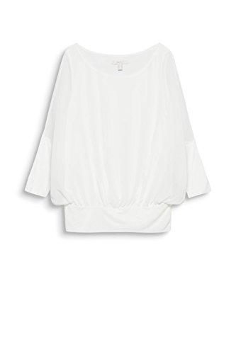 Blanc Femme Off Blouse White 110 Esprit RwzqTExY6