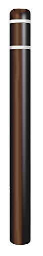 Encore Commercial/Post Guard - CL1385U - 52H High Density Polyethylene Bollard Cover for Post Size with 4-1/2 Dia, Brown