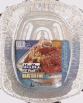 01920 Hefty EZ Foil Superoaster Pan 16''x12.5''x3'' 12-1PKS/CS