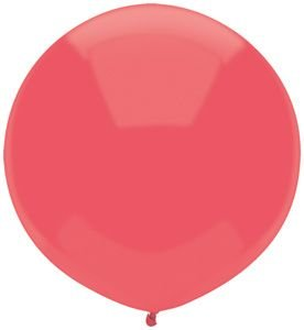 17'' Watermelon Outdoor Latex Balloons - Pack of 5 by Single Source Party Supplies