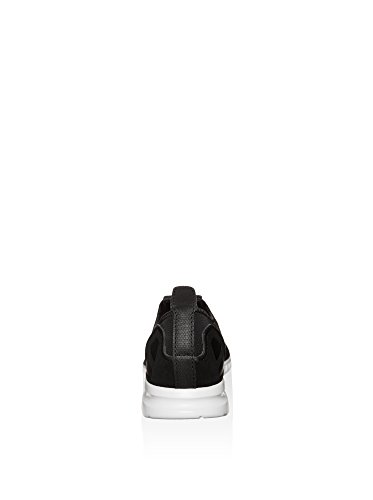 adidas Hausschuhe ZX Damen Blau Schwarz Flache Weiß Smooth Flux PpUvP