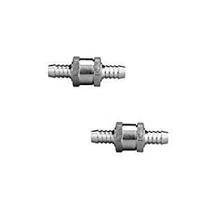 ChenRui 2Pcs Soupape Clapet Anti retour Valve Carburant Gasoil Essence Diesel Eau huile (10MM)