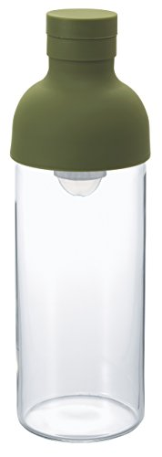 Hario FIB-30-OG Cold Brew Filter-In Tea Bottle, 300ml, Olive Green