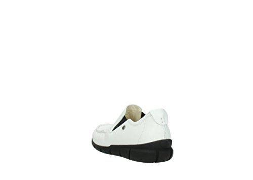 Comfort 70100 Sekani Slipons Leather White Wolky HfqCzU