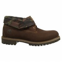 Timberland Men's Red Briar Nubuck with Camo Icon Roll-Top Leather and Fab 6 D(M) US