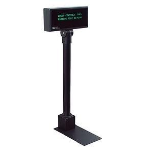 Logic Controls Pole Display 2x20 5mm Rs232 Green Vfd 20 X 2
