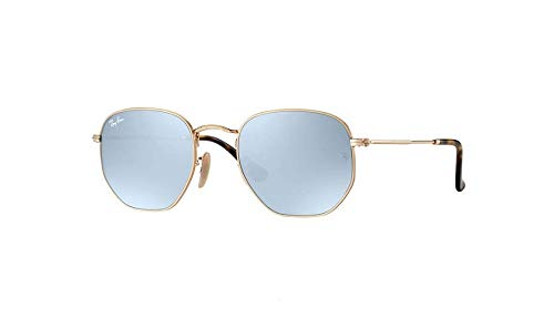 Hexagonal gold 3548n rb Sonnenbrille Or Ray greyflash ban qCEH7R