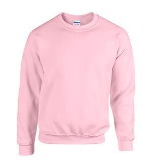 - Gildan 18000 - Classic Fit Adult Crewneck Sweatshirt Heavy Blend - First Quality - Pink - 5X-Large