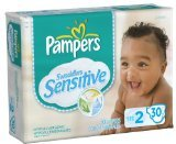 Pampers Swaddlers Sensitive Diapers Jumbo Pack, 30ct (Pack of (Swaddlers Jumbo Pack)