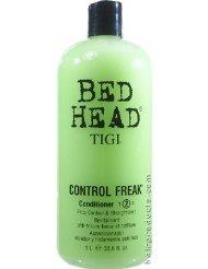 BED HEAD TIGI Control Freak Step Two Conditioner Frizz Control & Straightener 33.8oz/1L