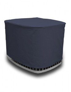 AC Covers Custom Air Conditioner Cover Made for Your Exact Make and Model. Heavy-Duty and Durable with 3-Year Tough-Weather Protection Warranty (Navy Blue) by AC Covers