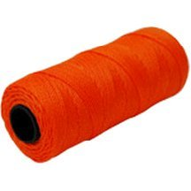 MARSHALLTOWN The Premier Line ML588 Mason's Line 1000-Foot Fluorescent Orange Twisted Nylon