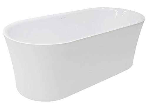 Best Buy! 67 Touch Control Air Jetted Deep Soaking Freestanding Bathtub with Multi Chromatherapy Li...