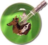 Light Green Animal Backing (Ultrascope Stethoscope - Light Green Animal Backing)
