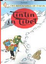 Front cover for the book Tintin in Tibet by Hergé