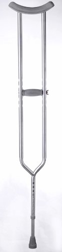 Medline Heavy Duty Adult Bariatric Crutches, 650 lbs ()