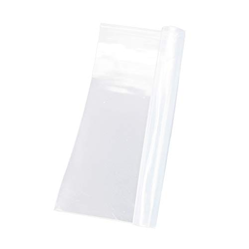 Silicone Film High Temp Thin Rubber Sheet Gasket Super Clear Flexible 12x20x1/32 inch by Laimeisi