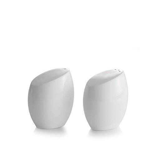 Nambé MT0865 Salt Pepper Shakers, White