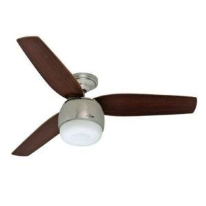 UPC 049694086716, Factory-Reconditioned Hunter HR28671 52 in. Brushed Nickel Ceiling Fan with LED Light