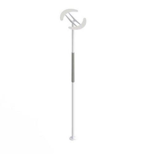 Healthcraft SuperPole System, Safety Grab Bar with Angled Ceiling Plate