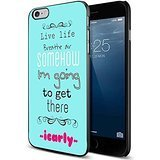 iCarly kids tv series quotes For iPhone 6 plus /6s Plus Black case