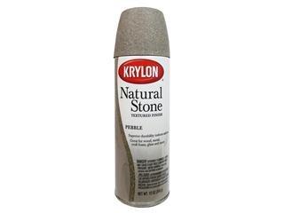 Krylon Natural Stone Paint 12 oz. (Faux Stone Paint)