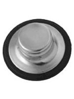 BrassCraft BC7130 SS Garbage Disposal Stopper in Stainless Steel Fits BC7125 SS
