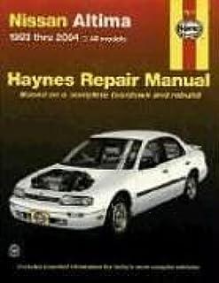 nissan altima 1993 2001 hayne s automotive repair manual chilton rh amazon com Nissan Altima Parts Manual 2011 Nissan Altima Repair Manual