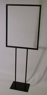 Sign Holder Base Flat - Quality Store Fixture Deluxe 22