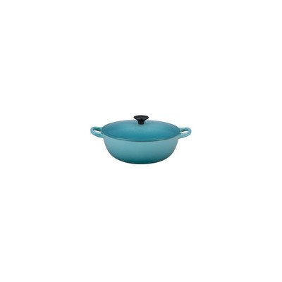 Le Creuset Enameled Cast-Iron 2-3/4-Quart Soup Pot, Caribbean