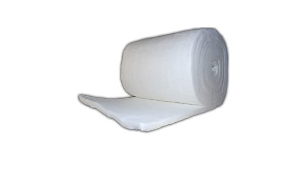 Vitcas - Manto de aislamiento para altas temperaturas (25 mm, para ...