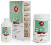 Total Fiber System - Purify Fiber Total Cleanse/weight Loss System (Natural Orange 10.5 Oz, Detox Oil 7 Fl. Oz, 28 AM Capsules, 14 PM Capsules - 7 day system)