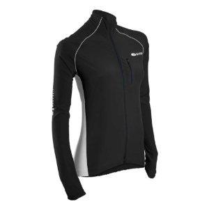Sugoi Women's RSR Jacket, Black/White, Small