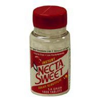 Necta Sweet Saccharin Sugar Substitute 0.25 Grain Tablets - 1000 Each