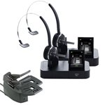 Jabra PRO 9470 Mono Wireless Headset with GN1000 Remote Handset Lifter (2-Pack)