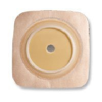 Surfit Natura Durahesive Flexible Skin Barrier With Flange With Tape Collar, Tan, #413166, Size: 1.75 inches - 10/Box by ConvaTec
