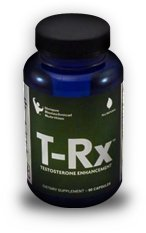 "T-Rx Testosterone Booster Twice As Potent As ""Test X180"" 90 Capsules"