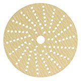 Sunmight 58516 1 Pack Velcro Disc Grit (Gold - 5'' Multi Hole 400)