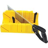 STANLEY Clamping Mitre Box w//Saw Model 20-600