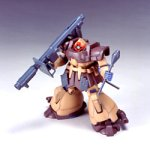 Gundam MS-09F Domtropen Sand Brown Color HGUC 1/144 Scale