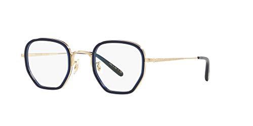 Oliver Peoples OV1234-5236 Eyeglasses Frame DENIM/BRUSHED SOFT GOLD ()