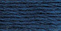 DMC Bulk Buy Thread Six Strand Embroidery Cotton 8.7 Yards Medium Navy Blue 117-311 - Floss Strand Cotton Six