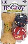 UPC 075726048339, Vo-Toys Vinyl Dog Toy Value Pack 3 pcs