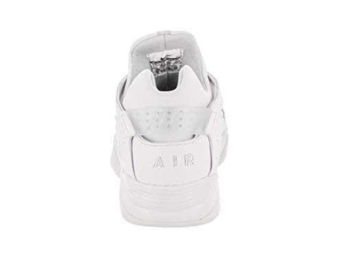 Air Basketball Flight Huarache Schuh Low White Black fqfw1r