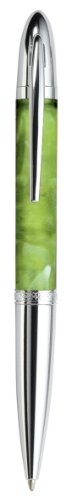 Pierre Belvedere Executive Ballpoint Pen, Wasabi/Chrome (677650)