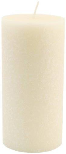 Root Candles Unscented Timberline Pillar Candle, 3 x 6-Inches, Ivory