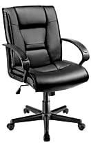 Brenton HLC-0499L Mid-Back Vinyl Chair