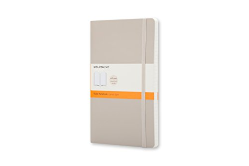 Moleskine Classic Colored Notebook, Pocket, Ruled, Khaki Beige, Soft Cover (3.5 x 5.5)